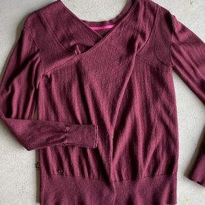 Lululemon wool cross back Sweater